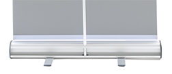 Banner stand step