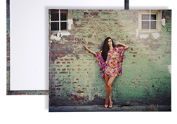 Photographic wrapped prints