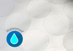 Silver gloss water proof paper