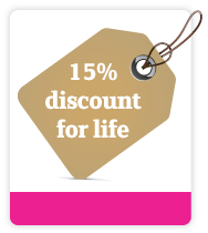 lifetime discount