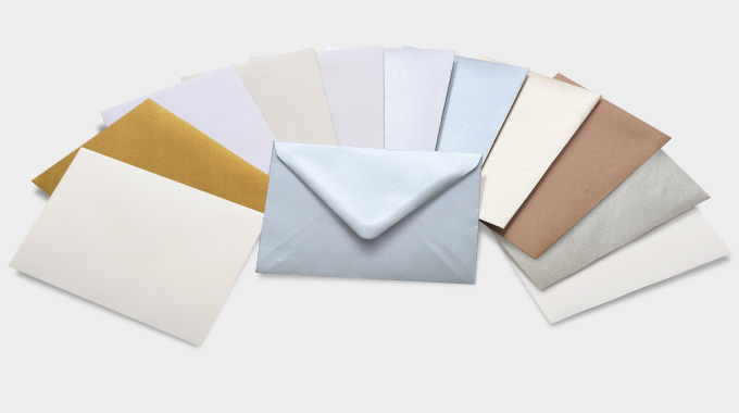 Quality printing paper types types of paper printed envelopes reheart Choice Image