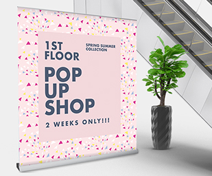 Extra Wide Roller Banners