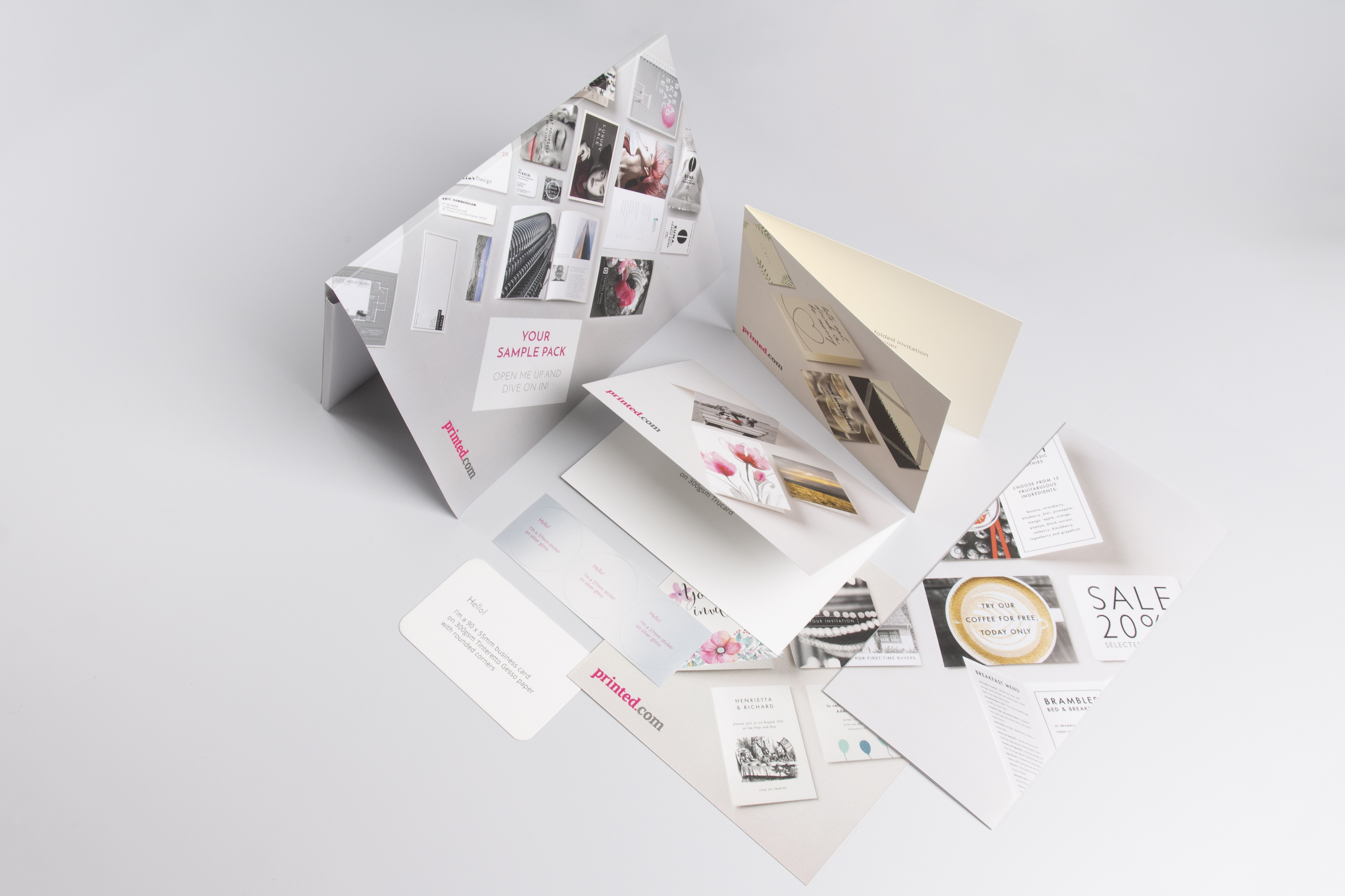 Image of product samples