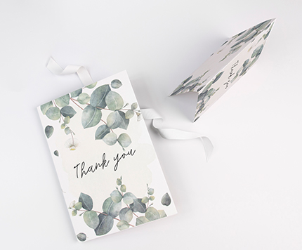Wedding Folded Thank You Cards