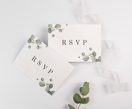 Wedding RSVP Cards