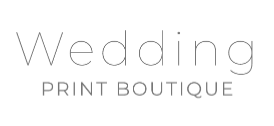 The Wedding Print Boutique