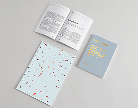 Perfect Bound Brochures and Notebooks