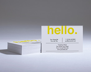 Custom business cards printing with next day delivery printed how much will my print cost reheart Images