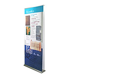 Double-sided Banner Stand