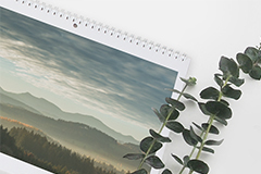 Double Page Wall Calendar