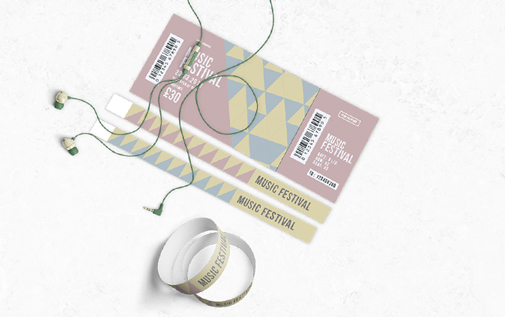 Ticket and Wristband Printing