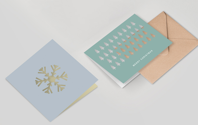 Laser Cutting Christmas Cards