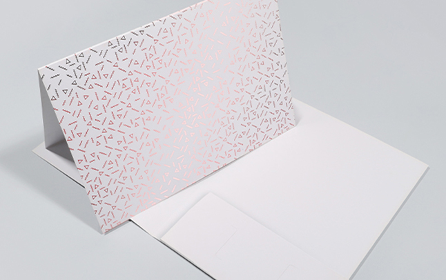 Foiled Presentation Folders