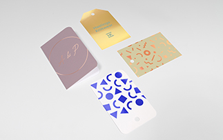 Foiled Gift Tags