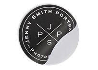 Photography Round Stickers