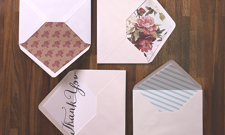 Wedding Envelope Liners - Printed.Com