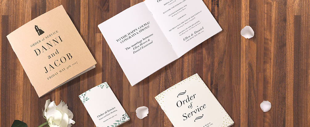 Multi-Page Order of Service