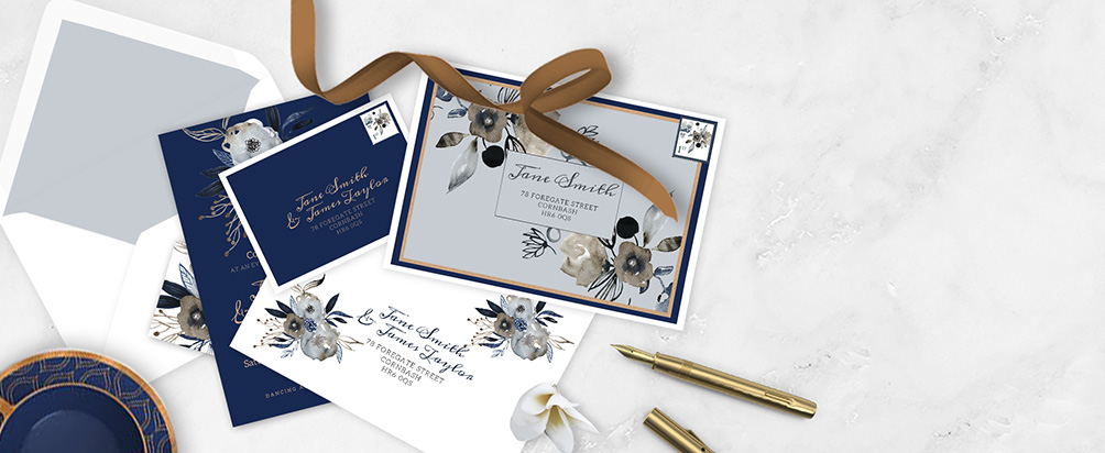 Wedding Printed Envelopes