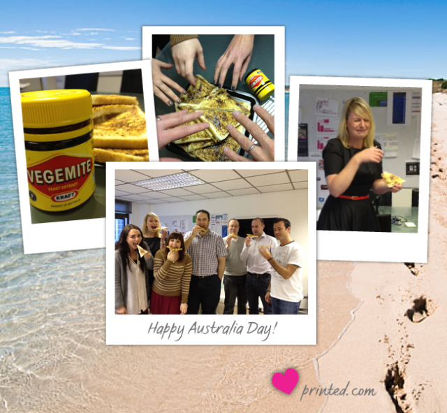 Celebrating Australia Day at printed.com