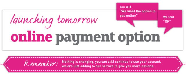 printed.com launching online payments tomorrow