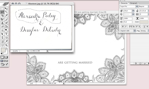 Jasmine Foster tips How to design wedding stationery