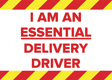 Essential Delivery Driver