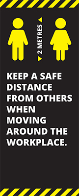 Workplace Safe Roller Banner