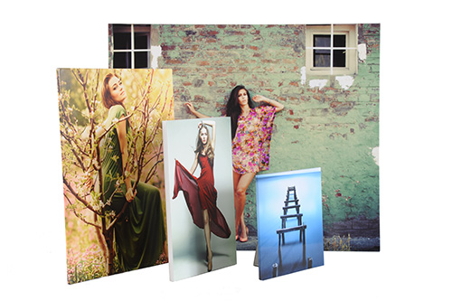 Photographic prints in 4 different sizes