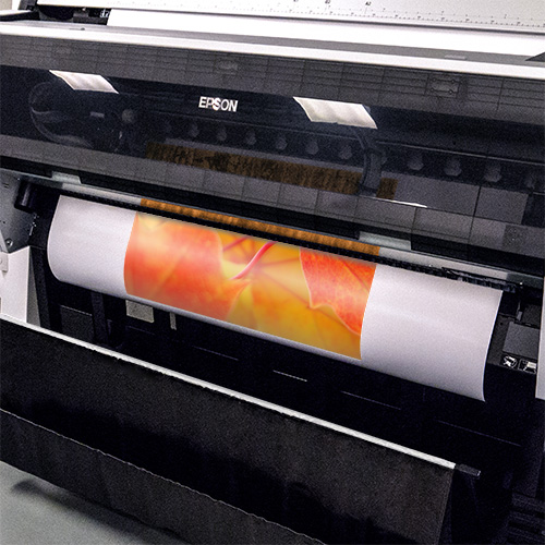 Epson Printer in action