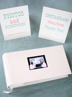 instagram for wedding decorations: Photo guest books
