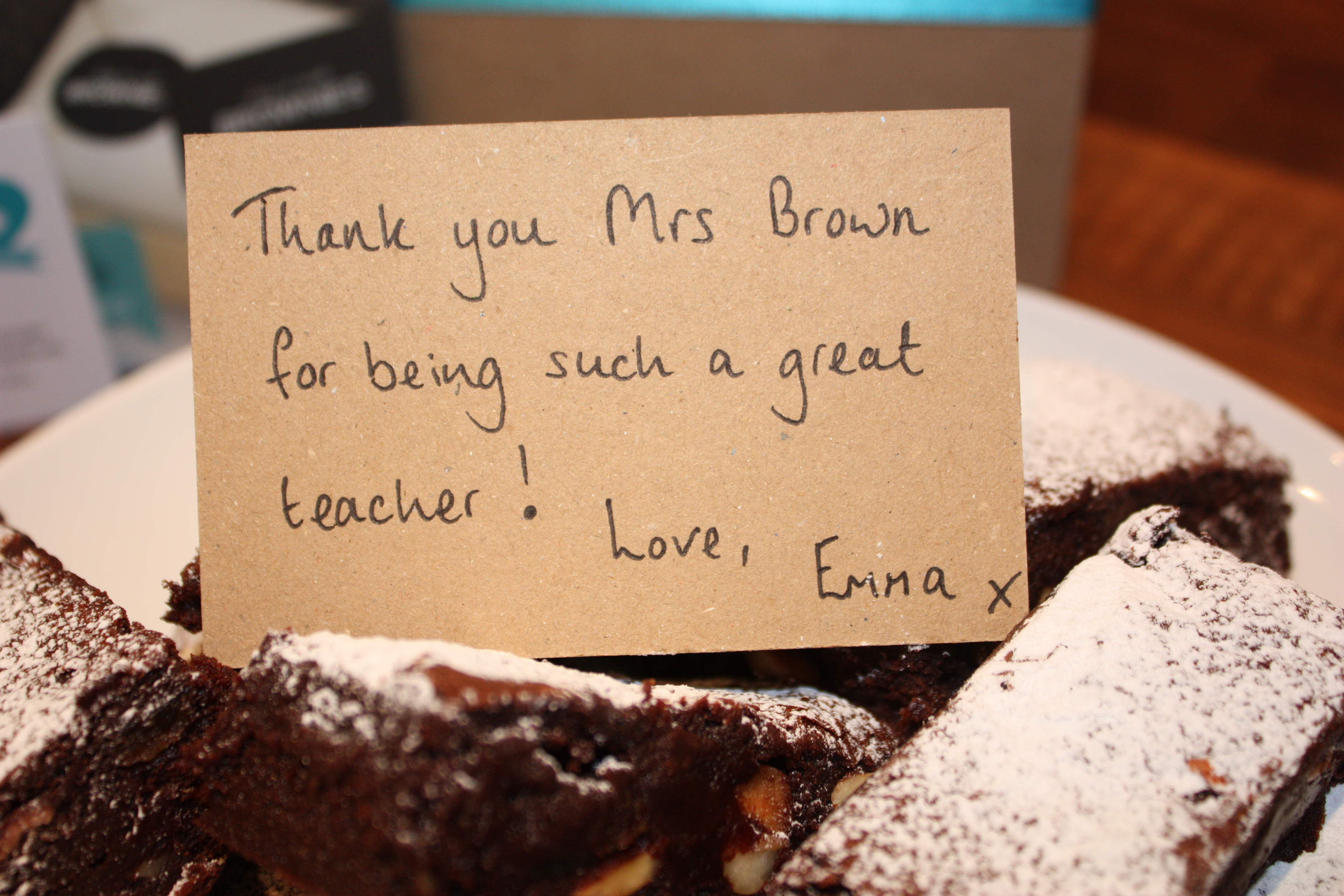 Say It with Brownies Packaging & Presentation Ideas from Printed.com