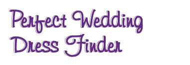 Perfect Wedding Dress Finder Logo