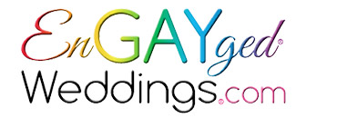 En GAYged Wedding Logo