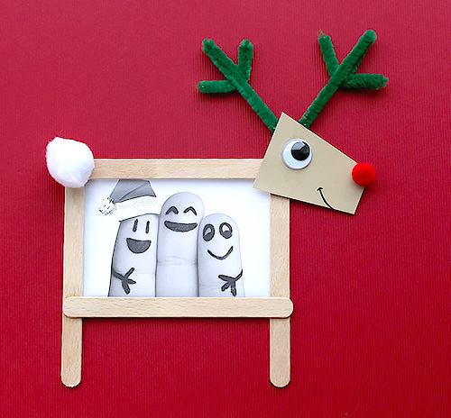 Christmas gifts ideas: Christmas reindeer frames