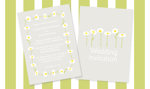 wedding invitations: how to design for a festival-themed wedding
