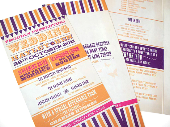 how to design for a festival-themed wedding: Ideas for designers
