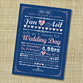 Wedding invites 2014: 5 popular themes