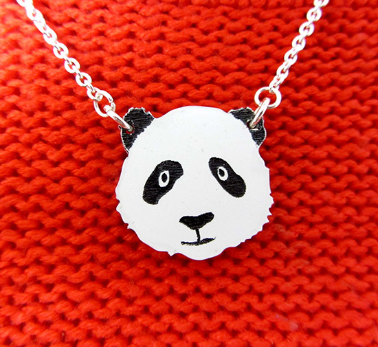 panda necklace: how to promote your Etsy shop