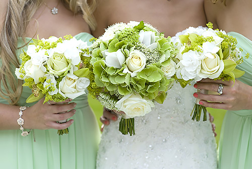 wedding trends green