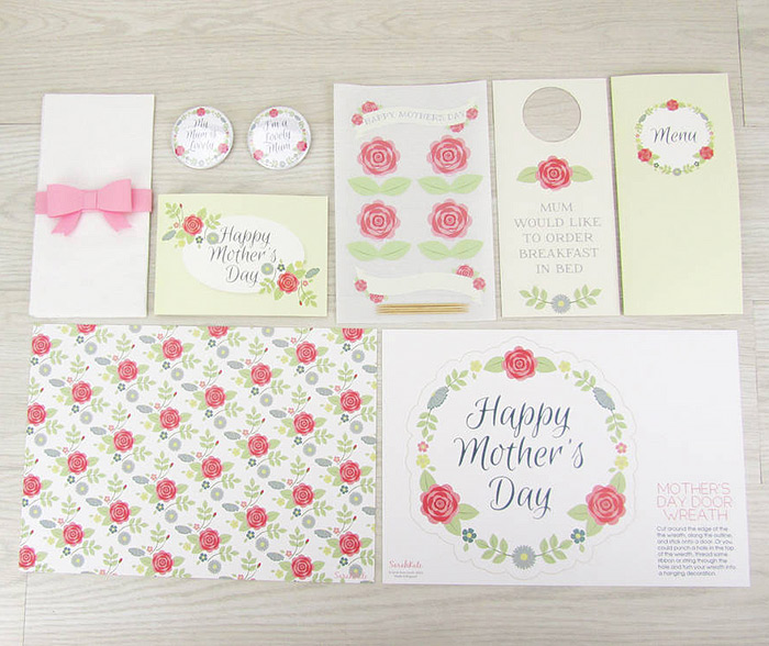 sarah kate mothers day kit stationery