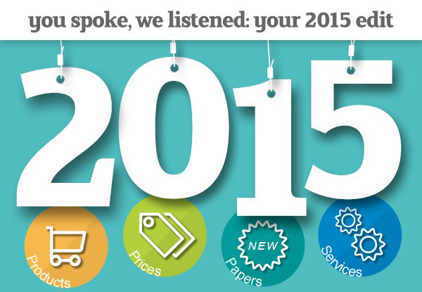 new products and services for 2015