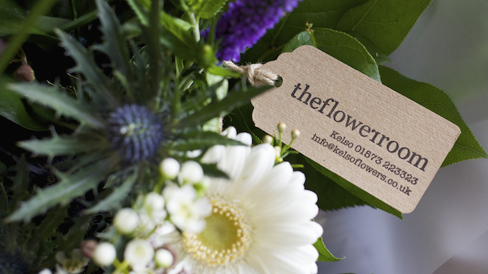 lettica flower tag in kraft paper for theflowerroom