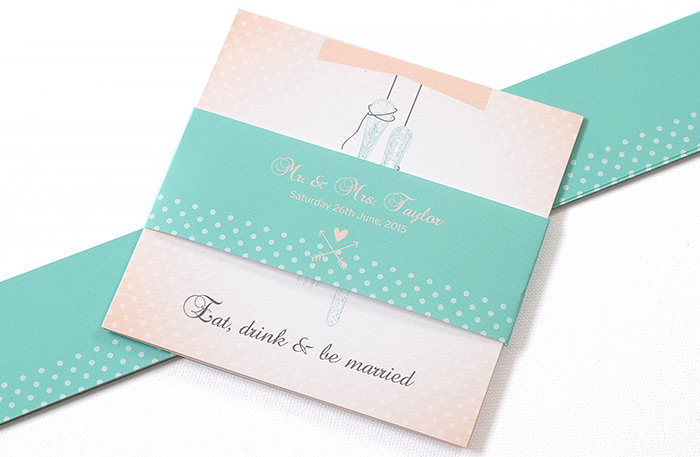 Belly Bands: Wedding Stationery Tips from Printed.com