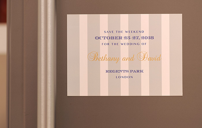Magnetic Paper: Wedding Stationery Tips from Printed.com
