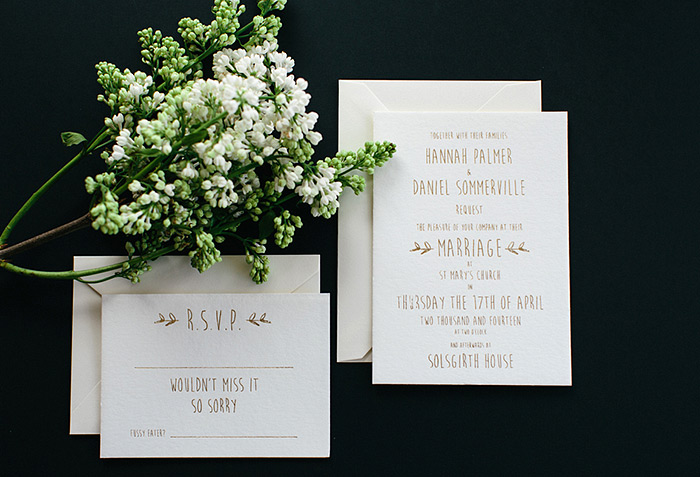 EYI Love Wedding RSVP Cards