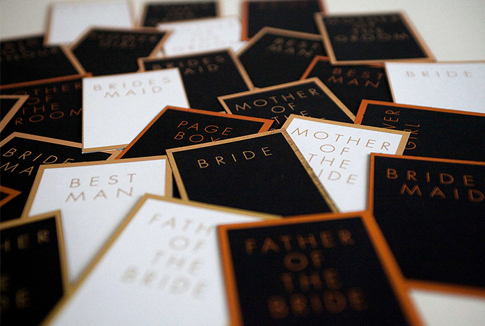 EYI Love Wedding Table Cards Names
