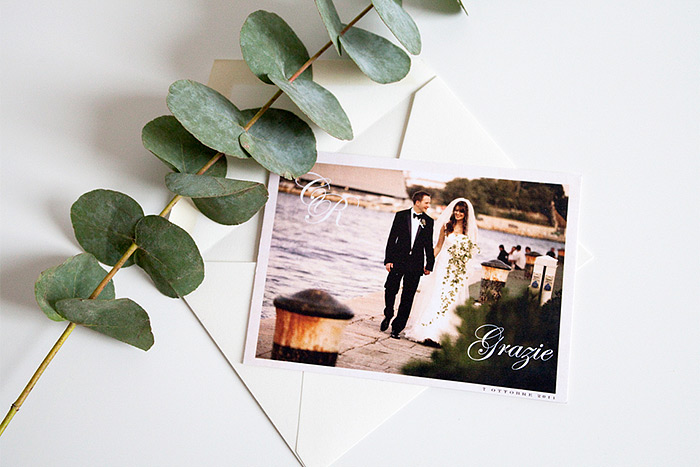 EYI Love Wedding thank you cards