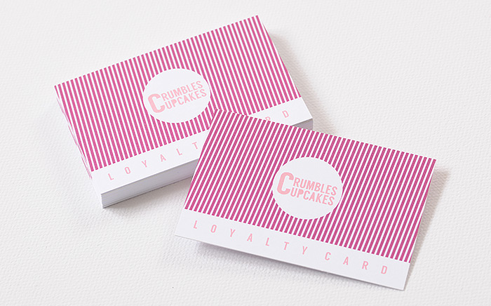 "loyalty business card design cake company ""enduring appeal of the business cards"""