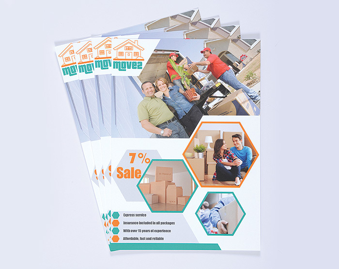 exhibition stationery leaflets and flyers