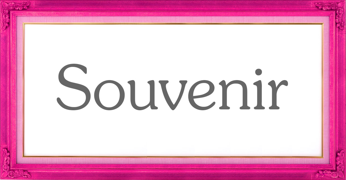 souvenir font Hated fonts from Printed.com